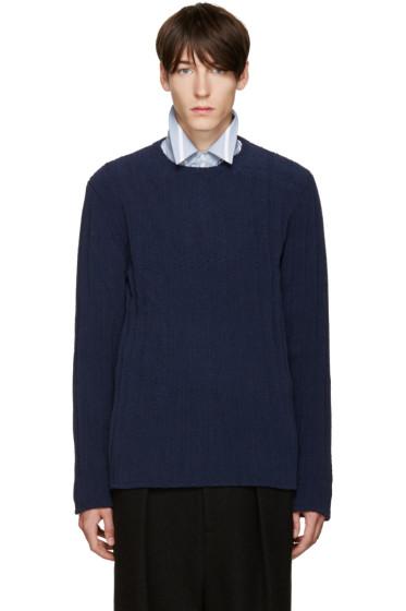 Umit Benan - Blue Knit Sweater