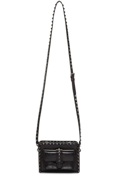 Valentino - Black Rockstud Noir Bag