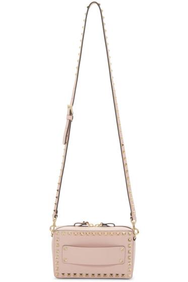 Valentino - Pink Rockstud East West Bag