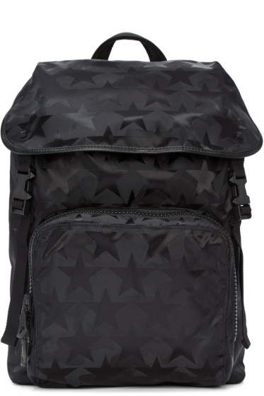Valentino - Black Star Backpack