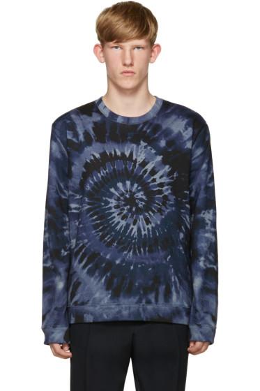 Valentino - Blue Tie Dye Sweatshirt