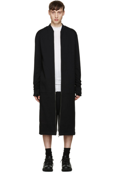Thamanyah - Black Long Coat