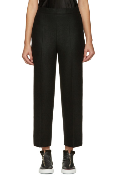 Calvin Klein Collection - Black Wide-Leg Jeno Trousers