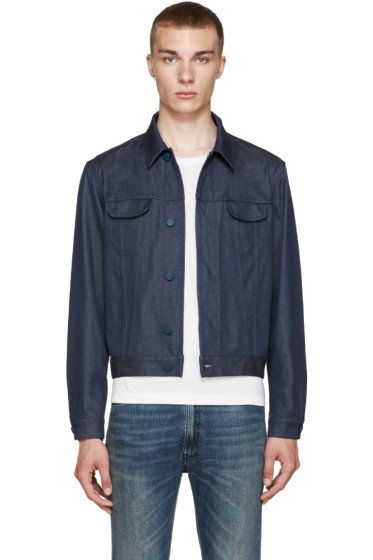 Calvin Klein Collection - Blue Telford Jacket