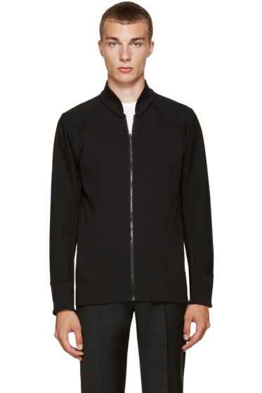Arc'teryx Veilance - Black Graph Zip-Up Sweater