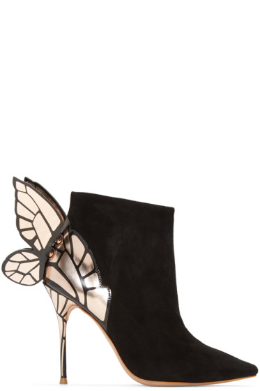 Sophia Webster - Black Chiara Ankle Boots