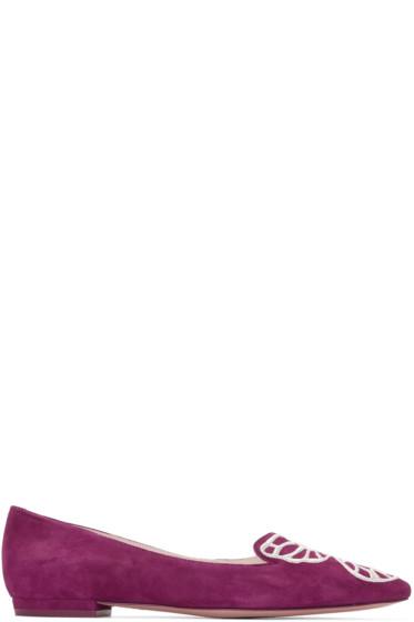 Sophia Webster - Purple Bibi Butterfly Flats