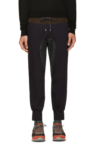 Kolor - Navy Cotton Lounge Pants