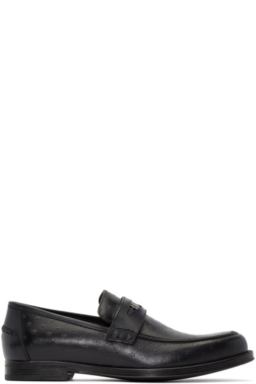 Jimmy Choo - Black Star Darblay Loafers