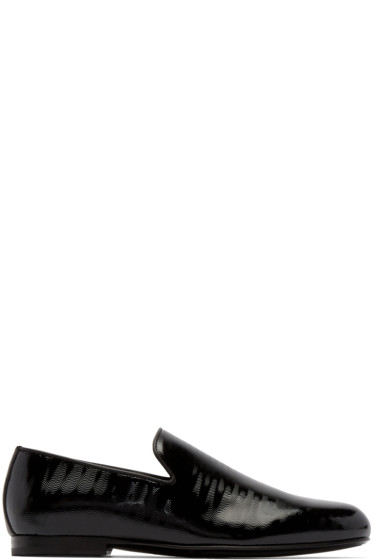 Jimmy Choo - Black Wave Sloane Loafers
