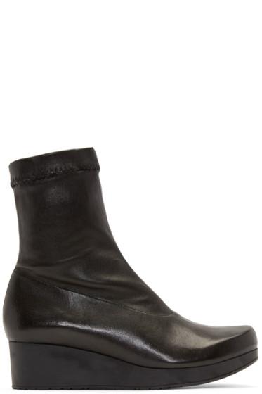 Robert Clergerie - Black Nerdall Sock Boots