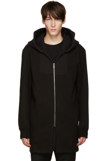 D.Gnak by Kang.D - Black Long Zip Hoodie