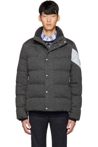 Moncler Gamme Bleu - Grey Quilted Down Jacket