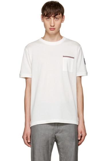 Moncler Gamme Bleu - White Pocket T-Shirt
