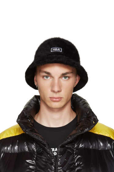 Hood by Air - Black Kangol Edition Bucket Hat