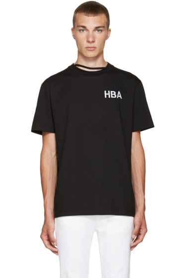 Hood by Air - Black Logo T-Shirt