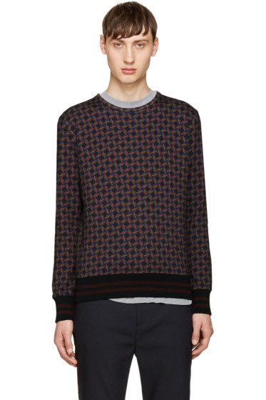 Giuliano Fujiwara - Multicolor Pattern Sweatshirt