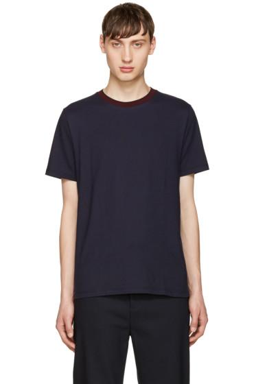 Giuliano Fujiwara - Navy Jersey T-Shirt