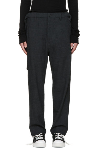 Miharayasuhiro - Grey Wool Trousers