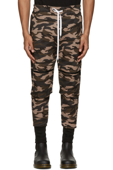 Pyer Moss - Brown Camo Lounge Pants