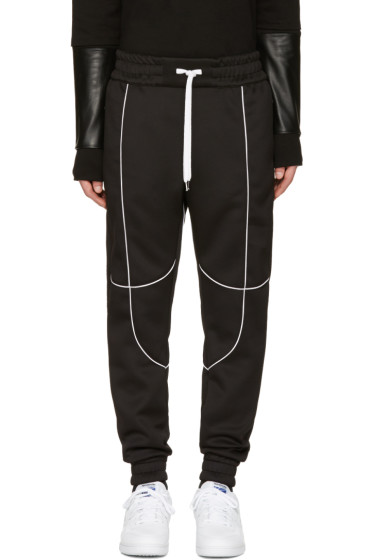 Pyer Moss - Black Flex Lounge Pants