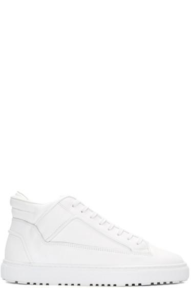 ETQ Amsterdam - White Mid 2 Sneakers