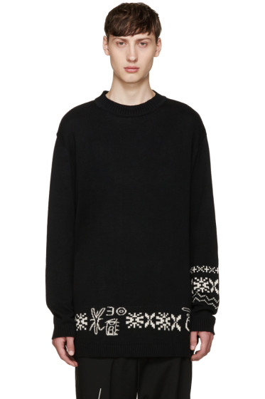 Yohji Yamamoto - Black Bottom Sweater
