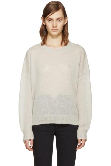 Isabel Marant Etoile - Beige Mohair Clifton Sweater