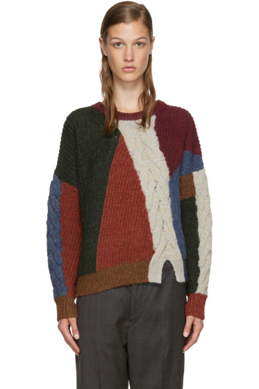 Isabel Marant Etoile - Multicolor Alpaca Gao Sweater