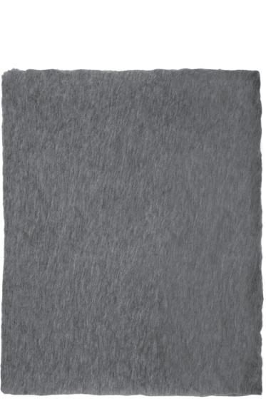 Isabel Marant - Grey Cashmere Zephyr Scarf