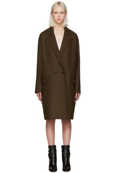 Isabel Marant - Brown Filipa Coat