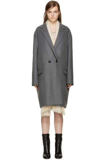 Isabel Marant - Grey Filipa Coat
