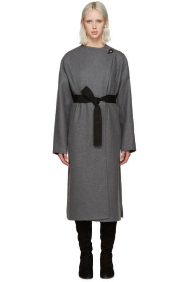 Isabel Marant - Grey Fargo Coat