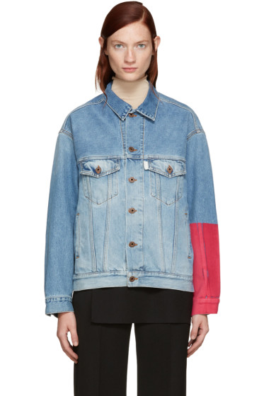 Off-White - Blue Denim Over Jacket