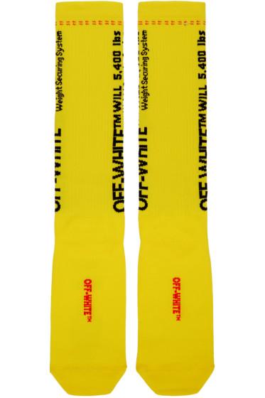 Off-White - Yellow TM Socks