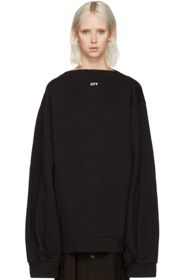 Off-White - Black Separate Collar Pullover