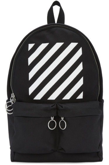 Off-White - Black Diagonals Backpack