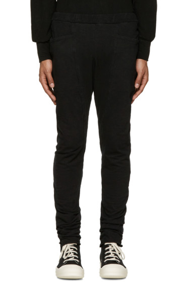 Diet Butcher Slim Skin - Black Skinny Sarouel Lounge Pants