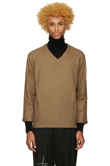 Undecorated Man - Brown Felted Pullover