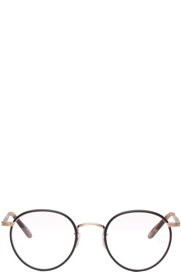 Garrett Leight - Black & Tortoiseshell Wilson Glasses