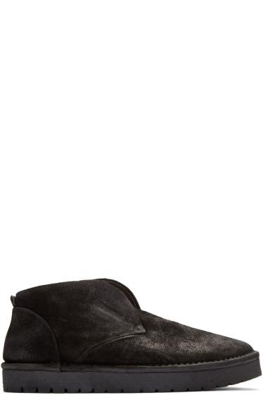 Marsèll Gomma - Black Nubuck Caprona Rov Boots