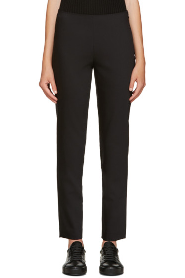 Jil Sander Navy - Black Tapered Trousers