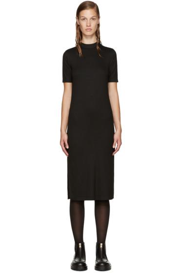 Nomia - Black Mock Neck Dress