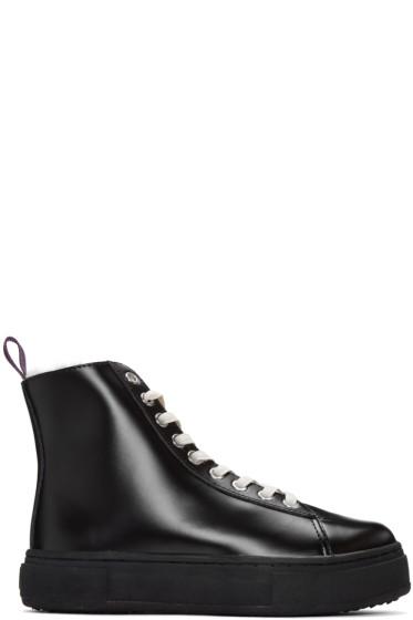 Eytys - Black Kibo Arctic High-Top Sneakers