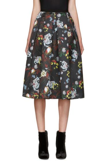 Erdem - Black Isa Skirt