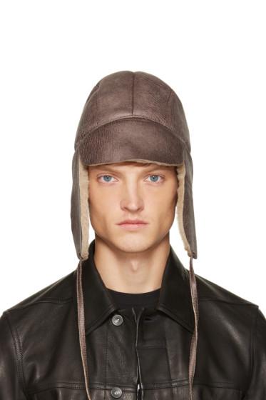 Gosha Rubchinskiy - Beige Chapka Hat