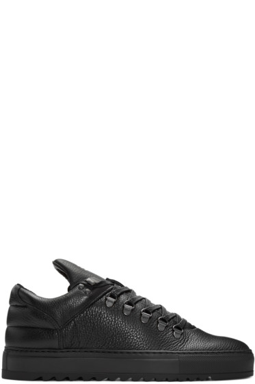 Filling Pieces - Black Mountain Cut Sneakers
