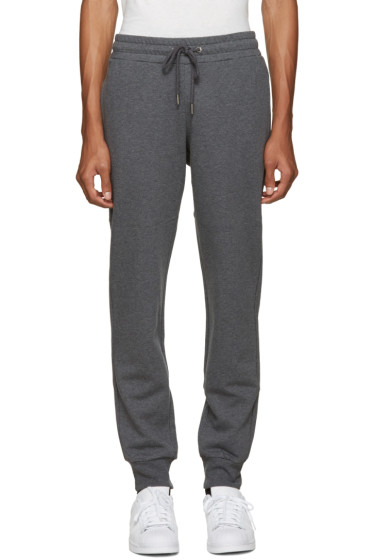 Versace Underwear - Grey Logo Back Lounge Pants