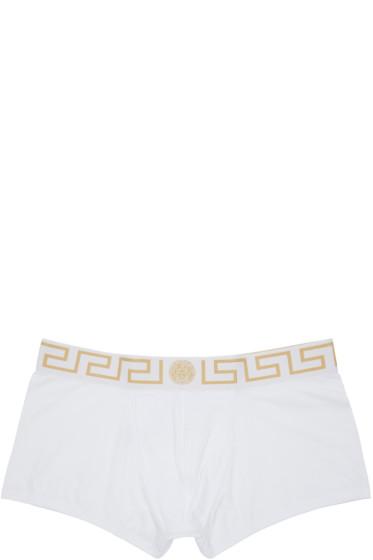 Versace Underwear - White Boxer Briefs Two-Pack