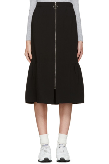 Edit - Black Fishtail Skirt